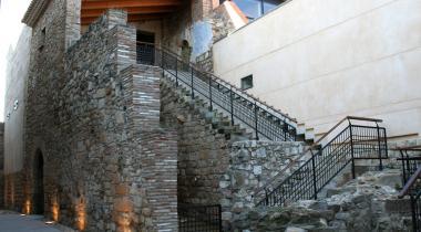 Escalinata de la casa de l'arquebisbe