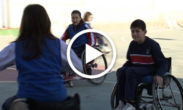 En cadira de rodes