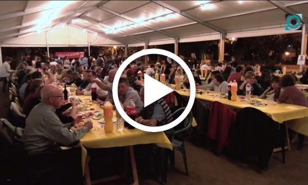 El sopar groc de la JNC recapta 1.300 euros per la llibertat dels presos polítics