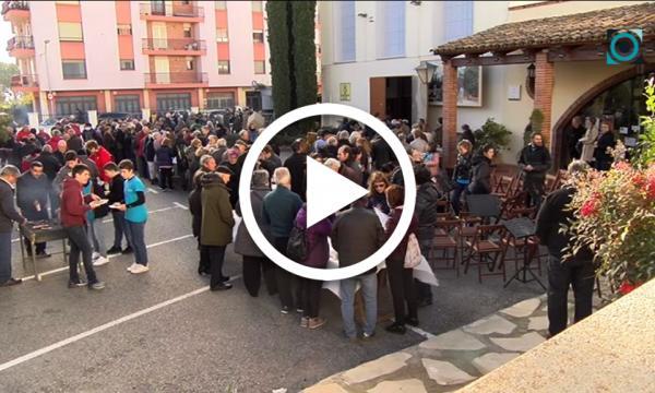 La Festa de l'Oli de Coselva aplega més de 700 persones per degustar l'oli del raig
