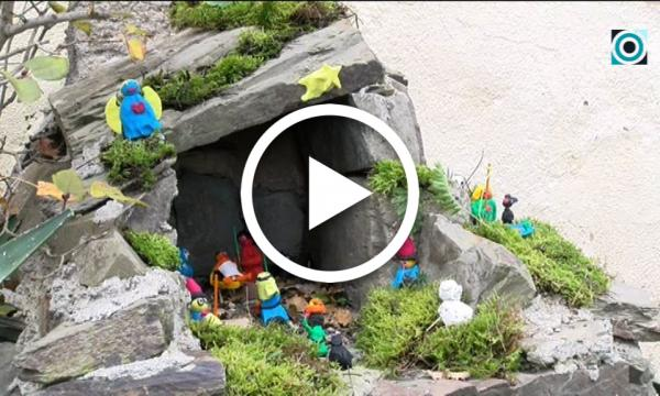 L'Associació d'Amics de l'Ermita de Sant Pere celebra el Nadal amb la tradicional plantada del pessebre