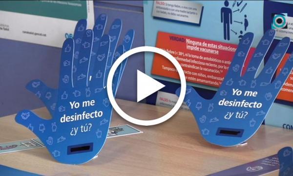 La importància de rentar-se les mans, premissa bàsica del Dia Mundial de la Higiene de les Mans