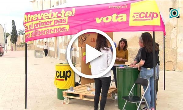 La CUP arrenca una intensa campanya electoral selvatana