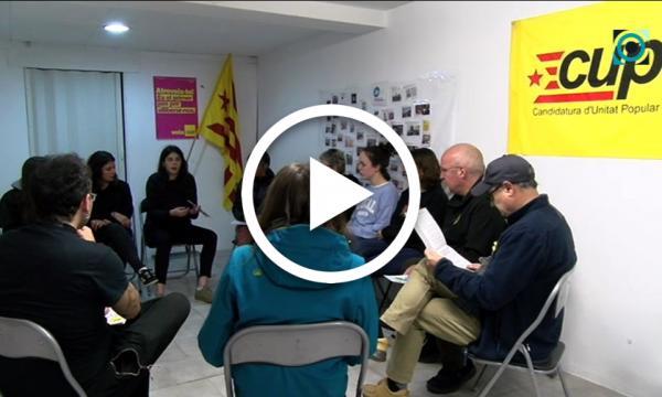 Diversos debats oberts sobre el projecte de poble de la CUP centren la seva campanya electoral
