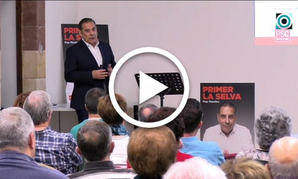 L'ampliació de la residència El Vilar i l'atenció a les persones, principals compromisos del PSC pel pròxim mandat