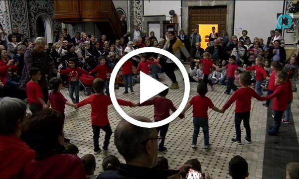 El col·legi Sant Rafael homenatja els seus avis i àvies amb la seva tradicional festa