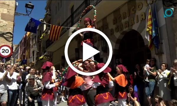 El vessant més tradicional de la Festa Major fa sortir els selvatans al carrer