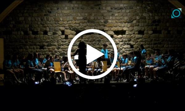 Les bandes infantil i juvenil de l'Aula Vilalta desitgen un bon estiu amb el concert de final de curs