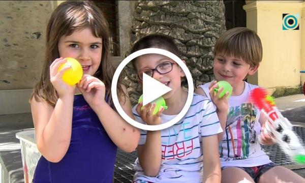 Els més petits es corden les capes en un Summer English Camp dedicat enguany als superherois