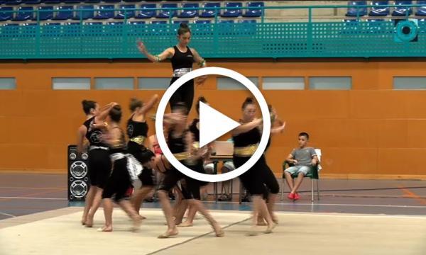 El clàssic i el 'remake' d'Aladdin centren el festival de final de curs del club de gimnàstica rítmica