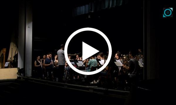 La Banda Simfònica de Reus agraeix l'hospitalitat selvatana amb un assaig obert