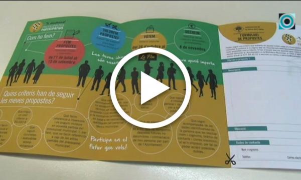 El 15 de setembre finalitza el període per presentar les propostes dels Pressupostos Participatius