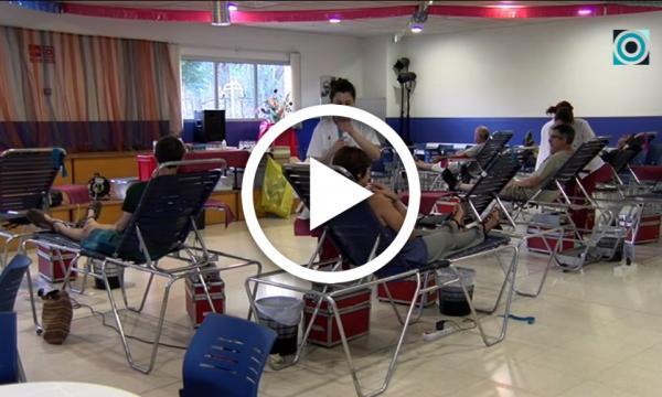 Èxit de donants de sang a la Selva malgrat ser una de les èpoques més fluixes de l'any en donacions