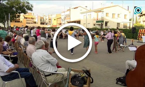 Les sardanes a la fresca s'acomiaden amb música en directe de la mà de la Cobla Reus Jove