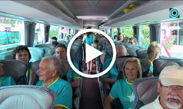 Vora els 250 selvatans es desplacen en autobús fins a la manifestació de la Diada a Barcelona