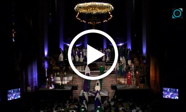 El Misteri fa història a la Sagrada Família