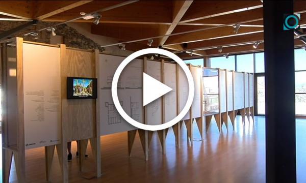 Una exposició al Castell repassa les mostres arquitectòniques més destacades de l'Escola del Camp