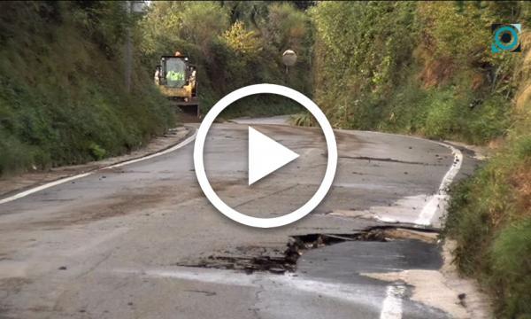 Diverses afectacions a la Selva pels aiguats de dimarts i la matinada de dimecres