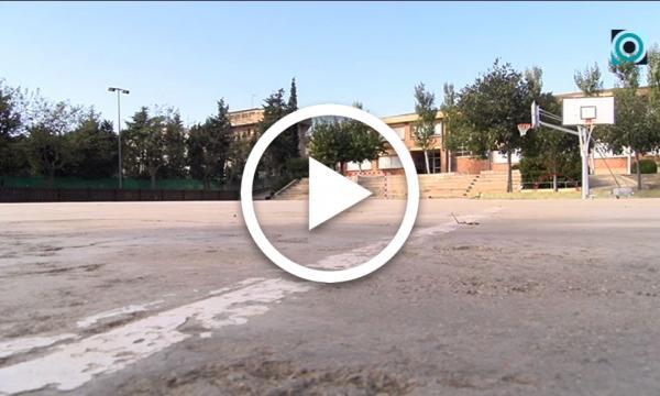 El condicionament de la pista poliesportiva del Gil Cristià, guanyadora dels pressupostos participatius