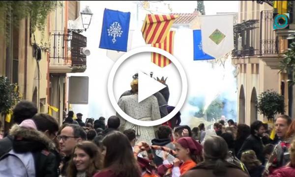 Els actes tradicionals i la música centren la Festa Major de Sant Andreu