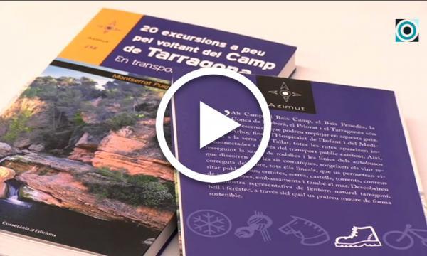 L'excursionista Montserrat Puig presenta una guia que recull itineraris sostenibles pel Camp de Tarragona