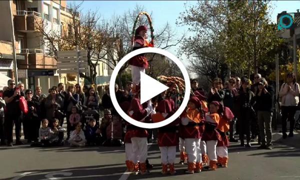 La missa, la cercavila i el correfoc, protagonistes indiscutibles del dia de Sant Andreu
