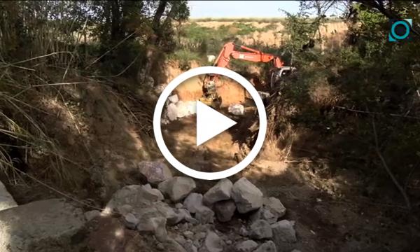 Treballs d'arranjament en el Torrent de Casans i la riera d'Almoster per minimitzar el risc d'inundacions