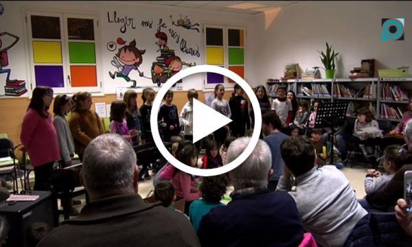 La vetllada poètico-musical enceta els actes nadalencs a la Biblioteca