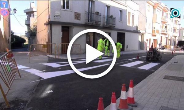 Les obres del carrer Paretdelgada posen el punt final a gairebé quatre mesos d'actuacions