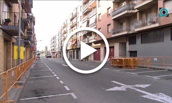 Més espai a les voreres i un únic sentit de circulació: comencen les obres del carrer President Companys