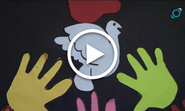 L'Abel Ferrater i el Sant Rafael se sumen al Dia Escolar de la No-violència i la Pau