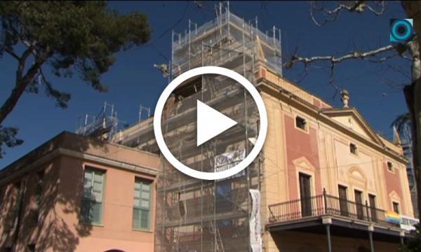 Les façanes de l'edifici de l'Hort d'Iglésies tornaran a lluir remodelades abans de Festa Major