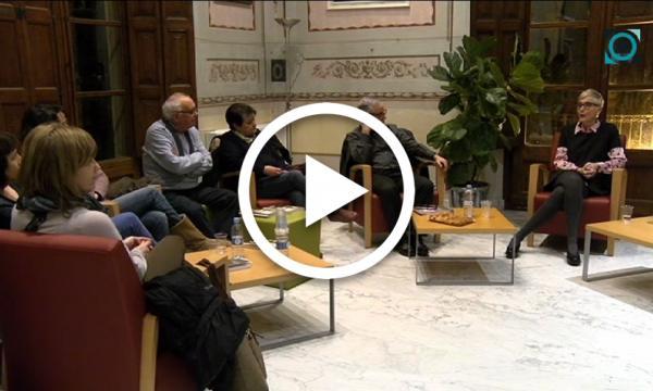 """Marta Magrinyà comenta """"La força del vent"""" amb el Club de Lectura d'adults"""