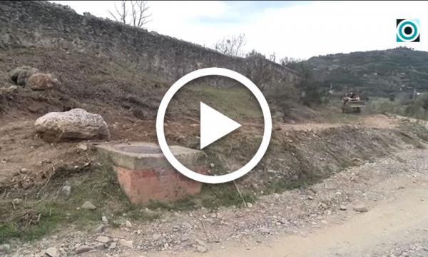 El desbrossament d'un nou tram de la riera permetrà unir la zona del pas de la Verònica i el polígon amb un passeig natural