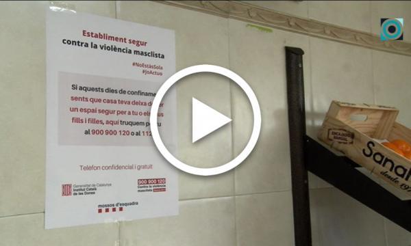 """Diversos comerços selvatans se sumen a la campanya """"Establiment segur contra la violència masclista"""""""
