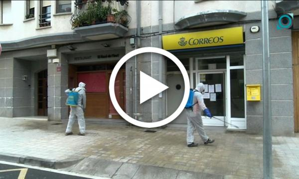 L'Ajuntament incrementa la desinfecció a les zones de pas per minimitzar els riscos pel coronavirus