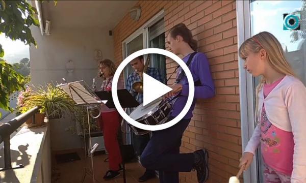 Sant Jordi 2020 | Sardanes des de balcons i terrasses