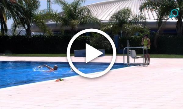 Les piscines d'estiu enceten la temporada sense aglomeracions