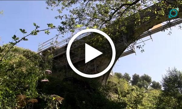 Comencen les obres de rehabilitació i consolidació del Pont Alt