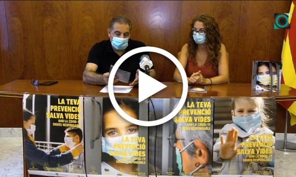 L'Ajuntament engega una campanya per conscienciar sobre les mesures anti-Covid