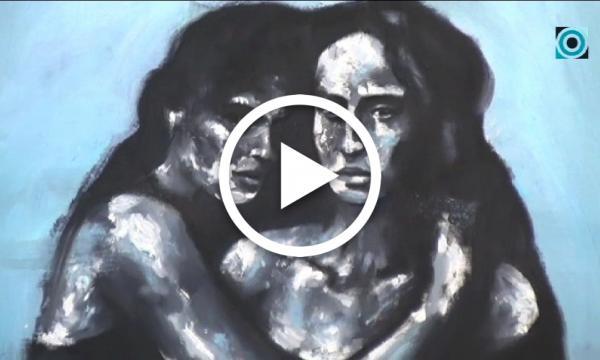 Xavi Pinyol copsa la seva evolució com a pintor amb un recull d'obres pròpies