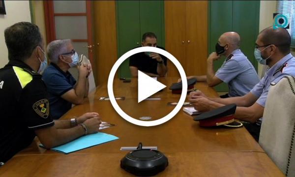 Els Mossos d'Esquadra i l'Ajuntament acorden incentivar la seguretat ciutadana a la Selva