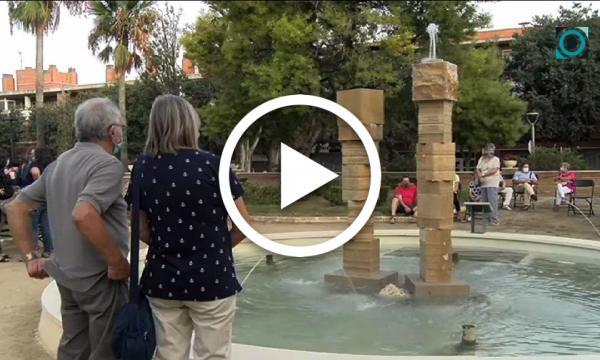 La Selva presenta la nova font dels jardins l'Hort d'Iglésies amb una celebració adaptada a les mesures sanitàries