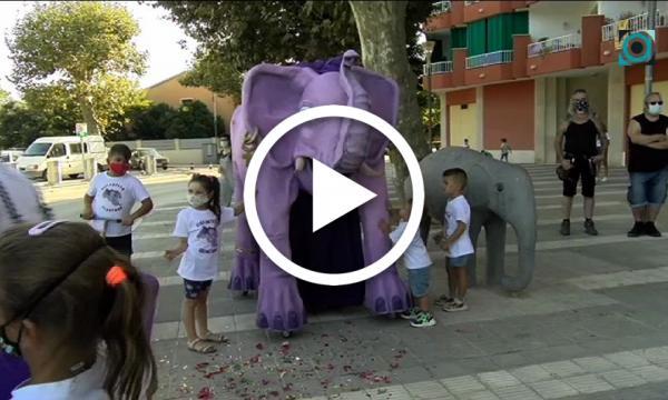 La Selva incorpora l'Elefanteta Selvatana al seu imaginari festiu