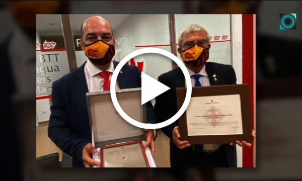 La FEEC recull una Creu de Sant Jordi amb participació selvatana