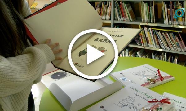 """La Selva fomenta l'hàbit lector als nounats amb la campanya """"Llegir i créixer junts"""""""