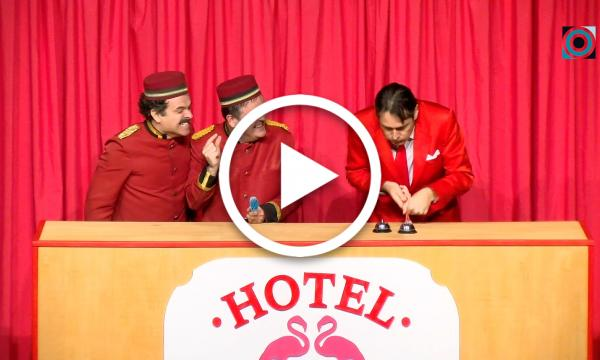 "Clownic convida a visitar l'""Hotel Christmas"""