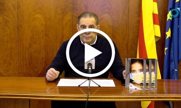 Declaració institucional d'alcaldia sobre la situació de la Covid-19 al municipi - 11 de gener