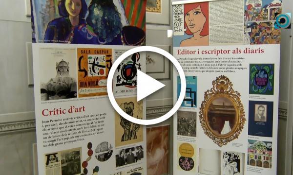 La Biblioteca acull una exposició sobre la polièdrica figura de Joan Perucho