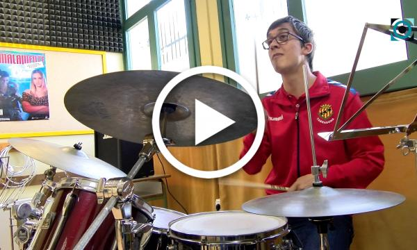 Un gran talent a la bateria: el selvatà Jordi Rofes, classificat a la Competició Virtual de LaLiga Genuine